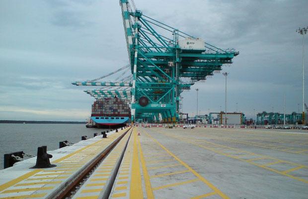 Pelabuhan Tanjung Pelepas (Wharf structure berth 11 & 12)